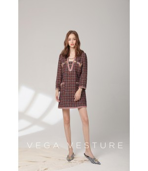 VEGA VESTURE Red Dress