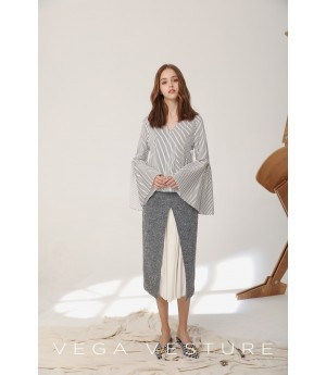 VEGA VESTURE Grey Skirt