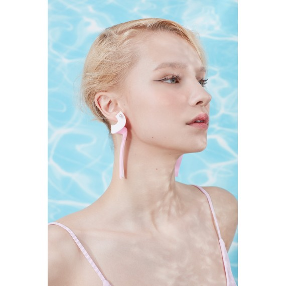 YVMIN Pink Surround Earring(One)