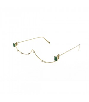 YVMIN Green Zircon  Glasses