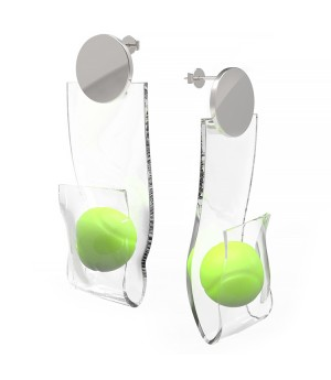 YVMIN Tennis Ball Earring