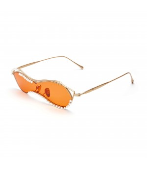 The Owner SunGlasses-Crown-Yellow