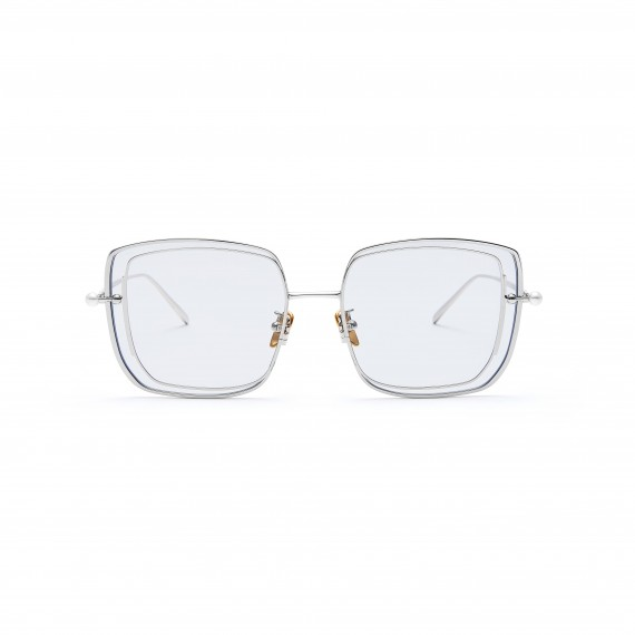 The Owner SunGlasses-Understanding 1-Silver Transparent