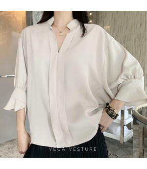 VEGA VESTURE OL Shirt-Light Brown