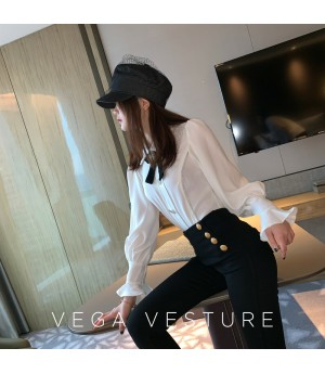 VEGA VESTUER Silver Edge Diamond Shirt