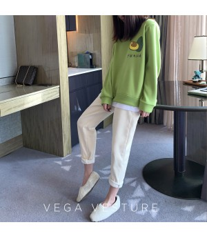 VEGA VESTUER Fruit Party Hoodie-Green