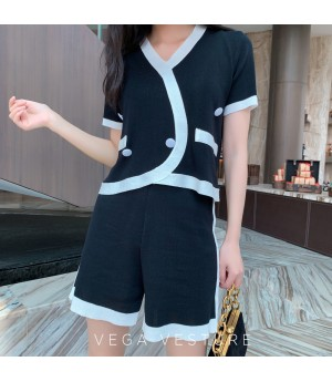 VEGA VESTURE Black&White Two Piece