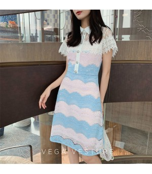 VEGA VESTURE Whitefly Lace Dress