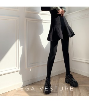 VEGA VESTUER Extra Velvet Fake-Two-Piece Skirt-Pant