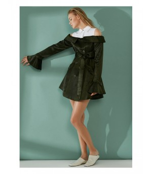 AlternaSenses Open Shoulder Dress