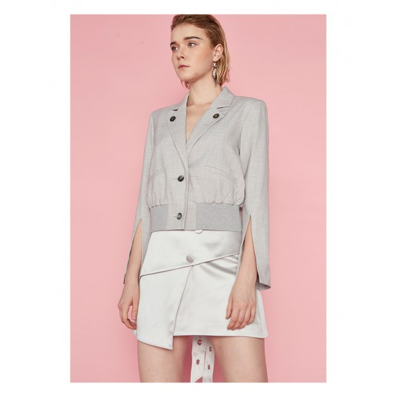 AlternaSenses Lapel Short Jacket