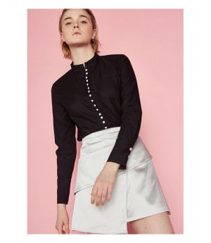 AlternaSenses Stand Collar Top