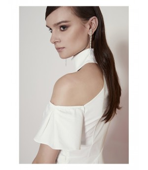 AlternaSenses One-Shoulder Dress