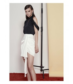 AlternaSenses Elegant White Skirt