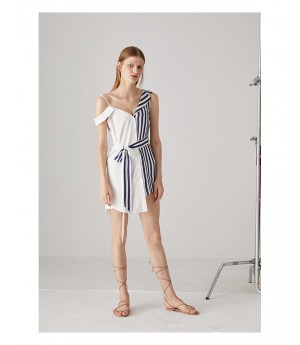 AlternaSenses Stripe Shirt Dress