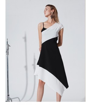AlternaSenses Black and White Dress