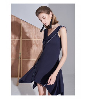 AlternaSenses V-Neck Sleeveless Dress