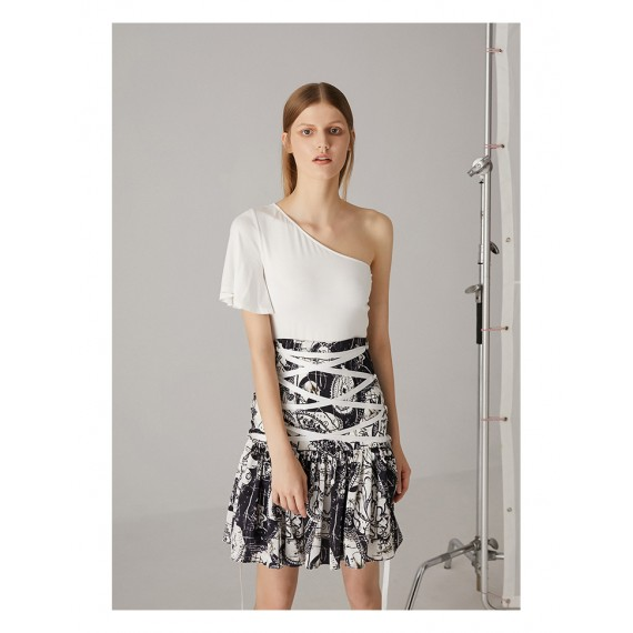 AlternaSenses Black and White Skirt