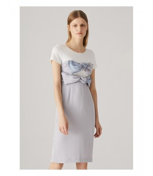 AlternaSenses Bowknot T-Shirt Dress