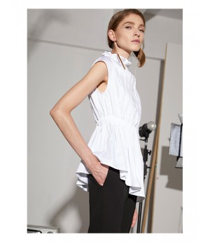 AlternaSenses Asymmetric White Top