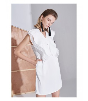 AlternaSenses V-Neck A Line Dress