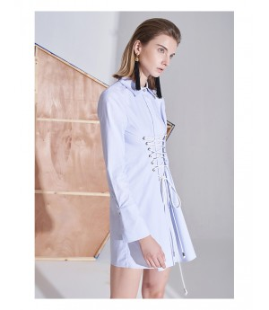 AlternaSenses Bandage Shirt Dress