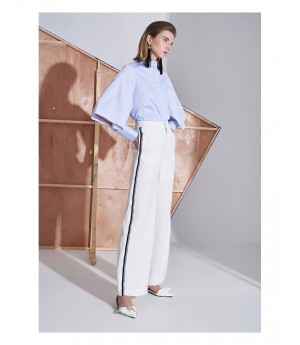 AlternaSenses White Sports Wide Leg Pants