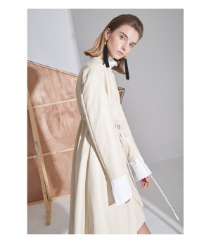 AlternaSenses Beige Trench Coat