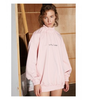 AlternaSenses Pink Hoodies Dress
