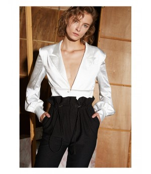 AlternaSenses Silk Suit Top