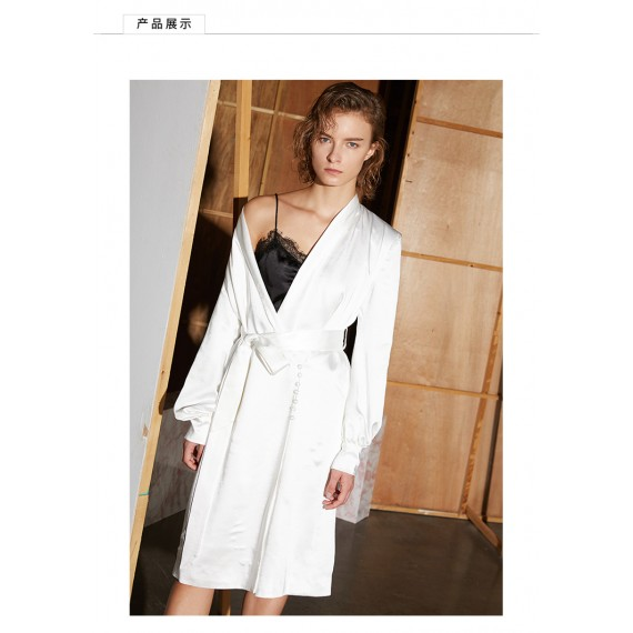 AlternaSenses Satin Pajamas coat