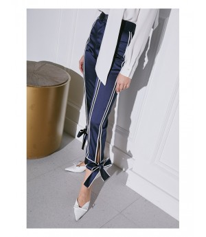 AlternaSenses Blue Silk Pants