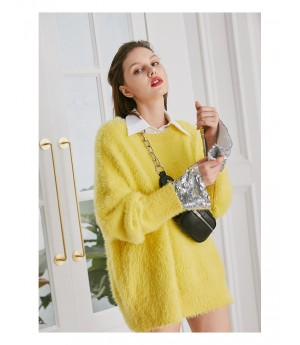 AlternaSenses Kintting Sweater-Yellow