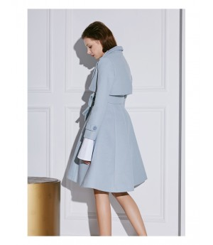AlternaSenses Wool Suit Coat-Blue