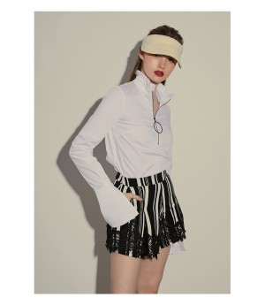 AlternaSenses Stripe Lace Skirt