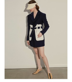 AlternaSenses Multi-Color Pocket Suit Dress