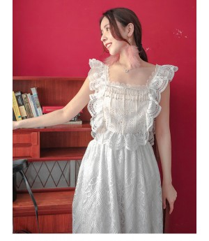 AlternaSenses Lace Diamond Short Dress