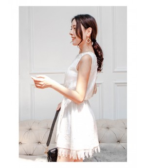 AlternaSenses Willow Lace Pearl Dress