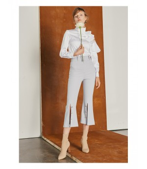 IcyNude Flared Trousers