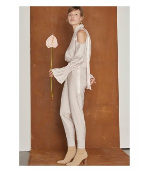 IcyNude Elastic Trousers