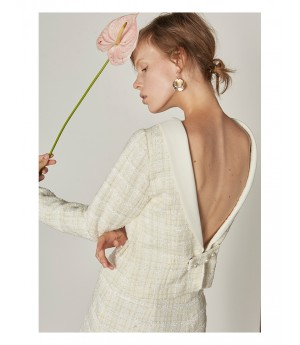 IcyNude Backless Top