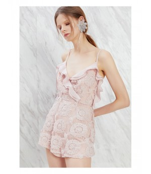 IcyNude Pink Strap Dress
