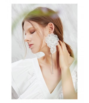 IcyNude Earring-White