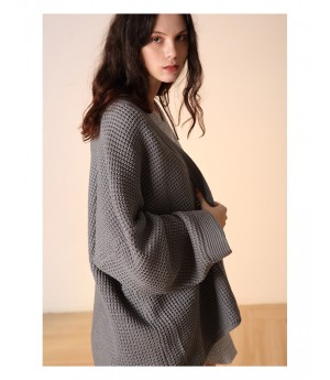 Istyni Knit Coat-Grey