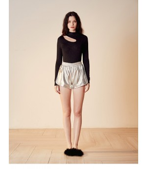 Istyni Knit Top-Black