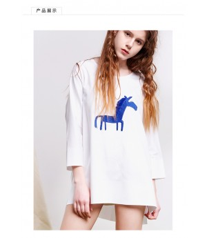 Istyni Printed Horse Shirt