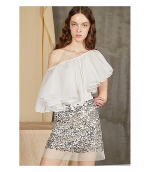 Istyni Silver Skirt