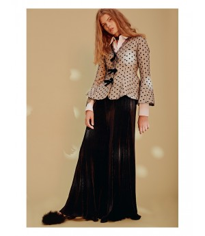 Istyni Black Wide Leg Pants