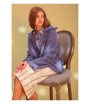 Istyni Coat-Blue