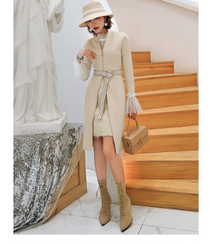 Istyni Suede Dress With Shirt